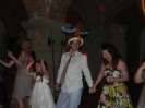 English Wedding party in Castagno Gambassi Terme - dance