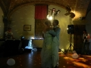 English Wedding party in Castagno Gambassi Terme - first dance