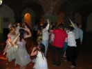 English Wedding party in Castagno Gambassi Terme - Friends on dancing
