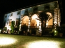 architectural lighting villa in Tuscany