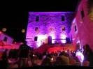 LED lighting for events in Tuscany