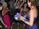 4th September  - Donna e Loren - wedding in Poppi - throwing the bouquet