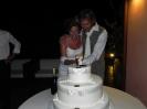 3 September - Vera & Erik Wedding party cutting cake